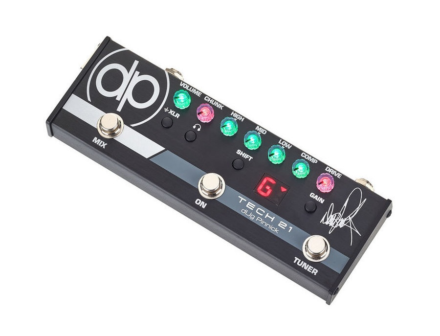 Tech 21 dug pinnick signature bass distortion pedal xl