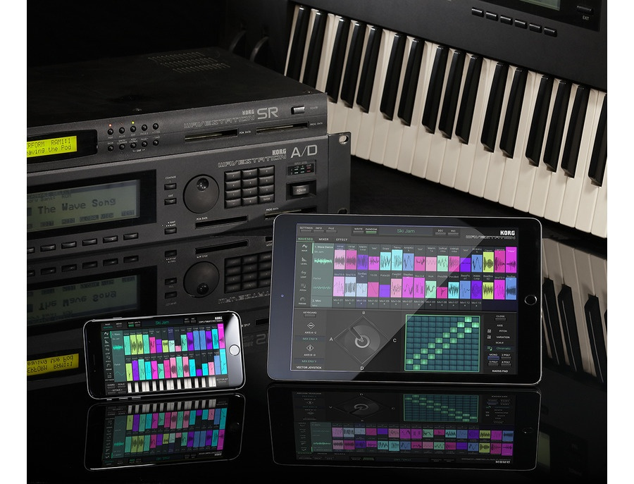 KORG iWAVESTATION for iOS (iPad, iPhone)