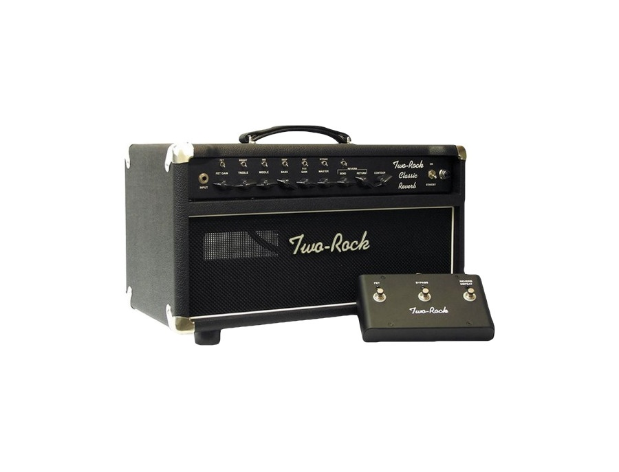 Two rock trcr100hd 100w classic reverb tube guitar amp head xl