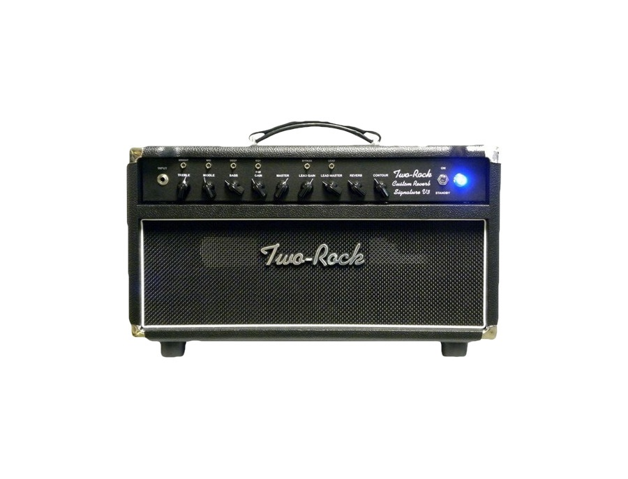 Two Rock TRCU50HDTR Custom Reverb v3 TR 50W Tube Guitar Amp Head