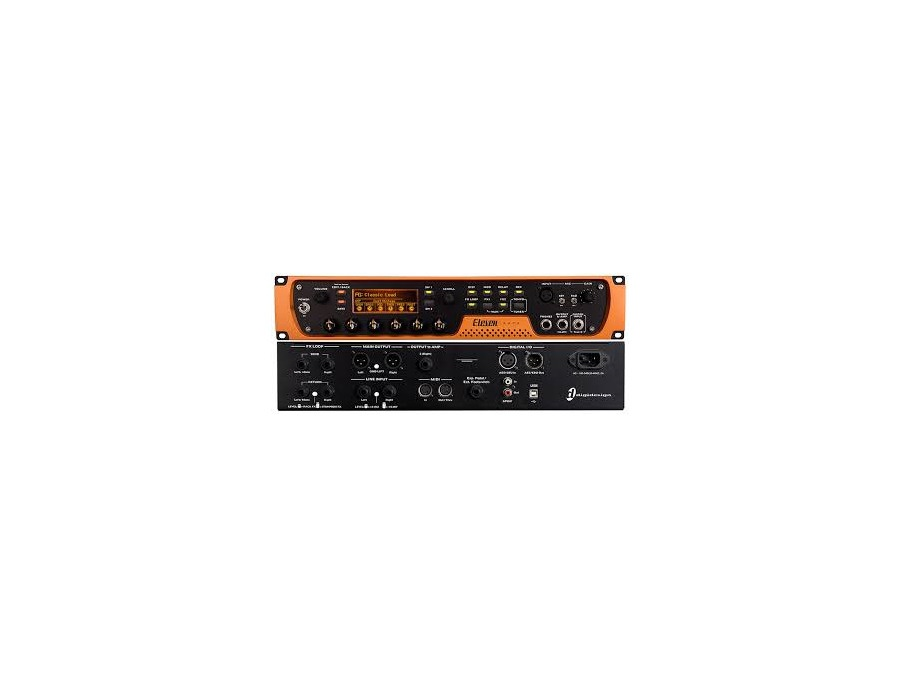 Avid Eleven Rack Hardware Only Guitar Preamp Reviews