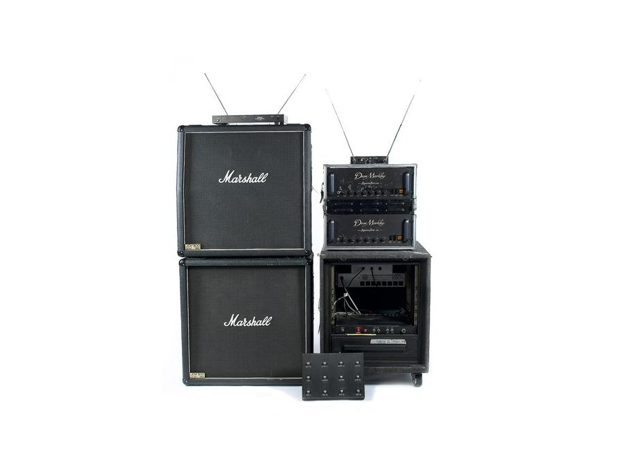 1980 Dean Markley 120, Bradshaw System, 80s Marshall JCM800 1960AB Cabs