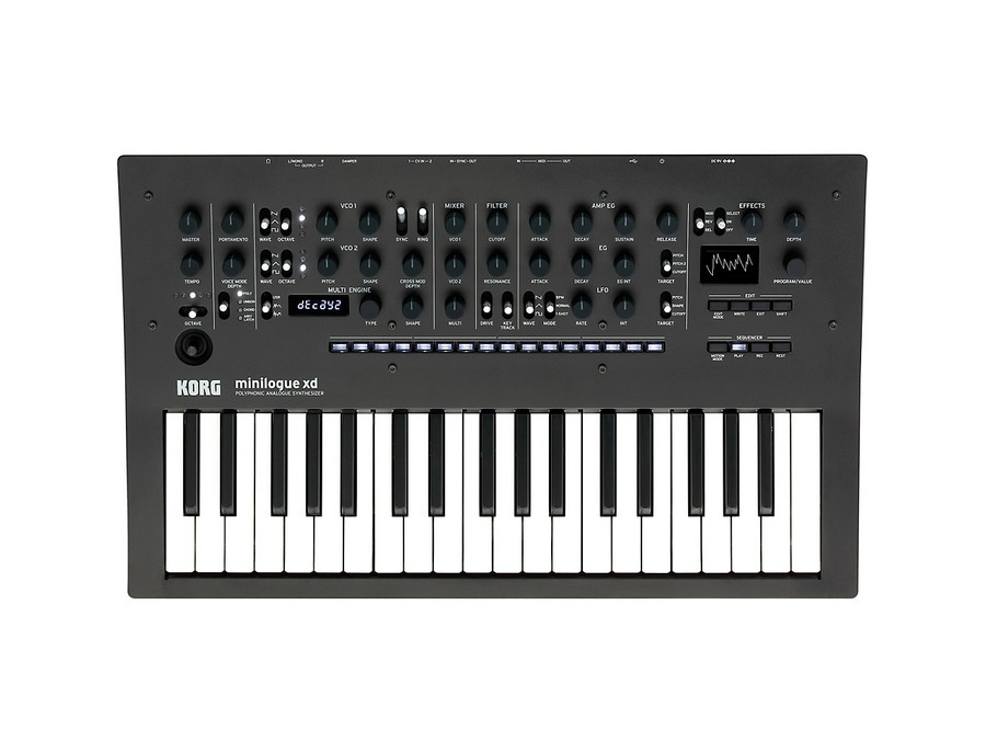 Korg minilogue xd xl