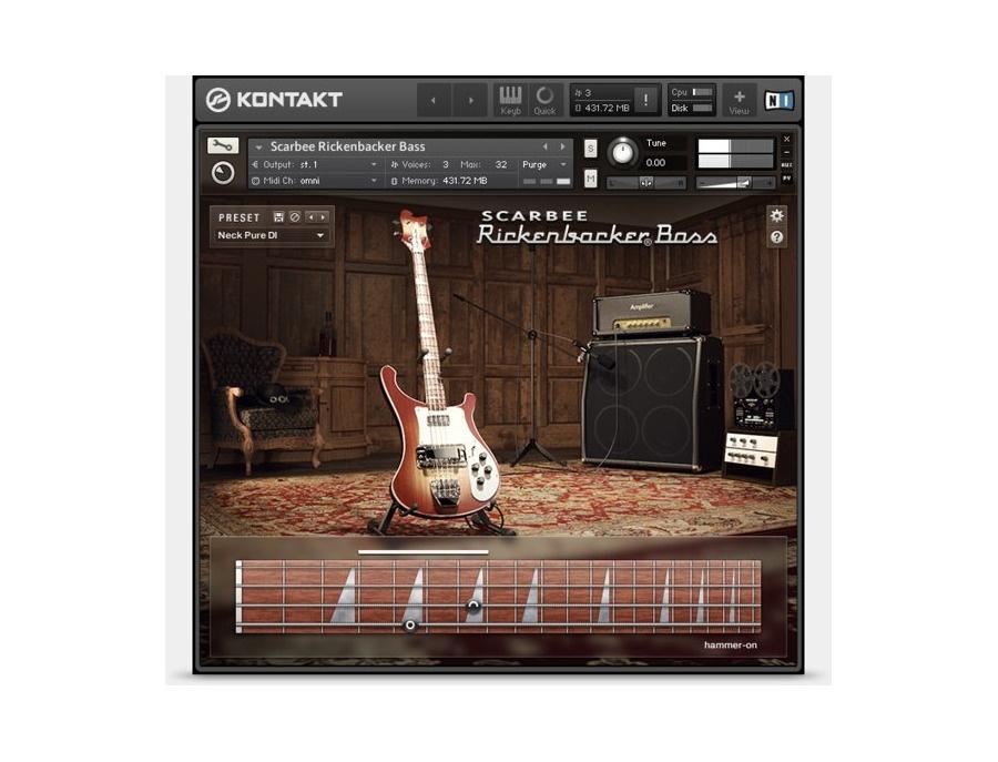 Native instruments scarbee rickenbacker bass xl