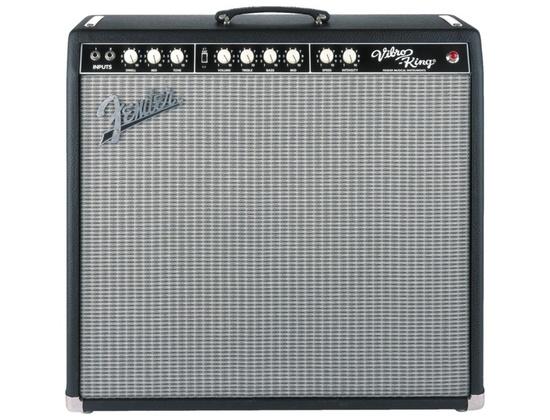 Fender Vibro-King Custom 60W 3x10 Tube Guitar Combo Amp Black