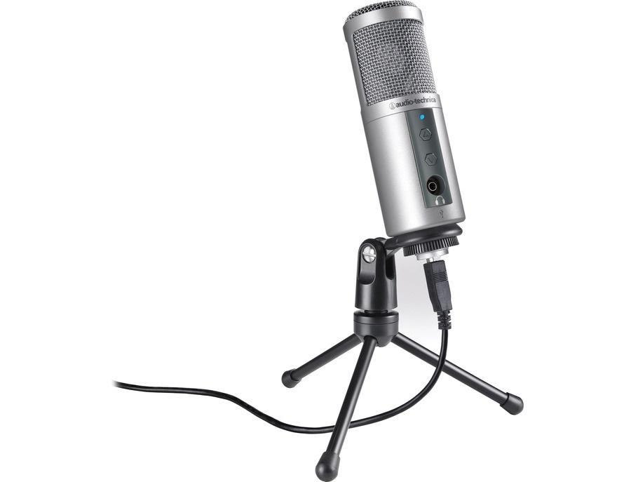 Audio technica atr2500 usb cardioid condenser usb microphone xl