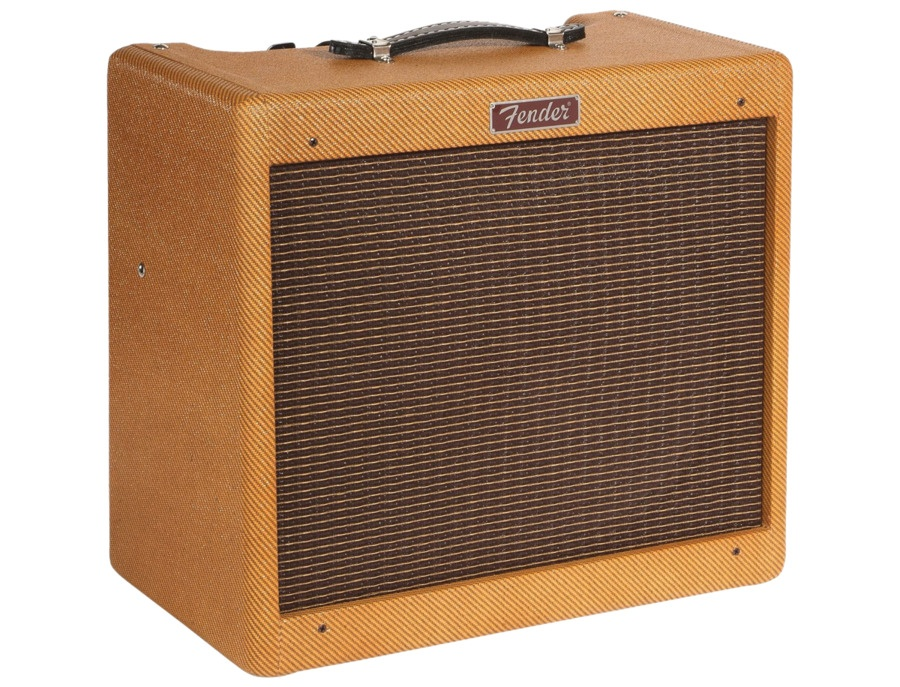 Fender hot rod series blues junior 15w 1x12 tube guitar combo amp xl