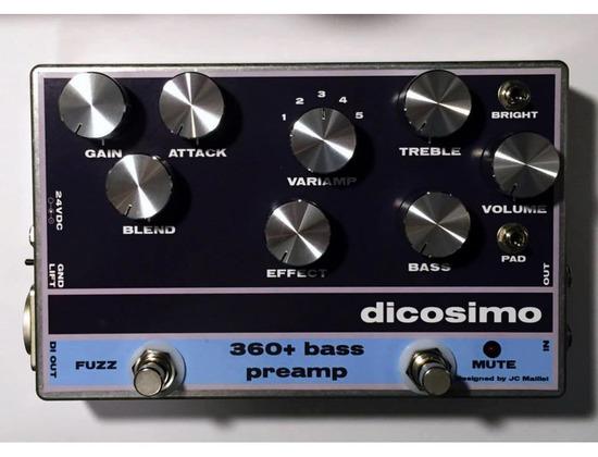 Dicosimo 360+ Bass Preamp
