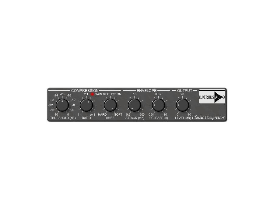 Kjaerhus audio classic compressor xl