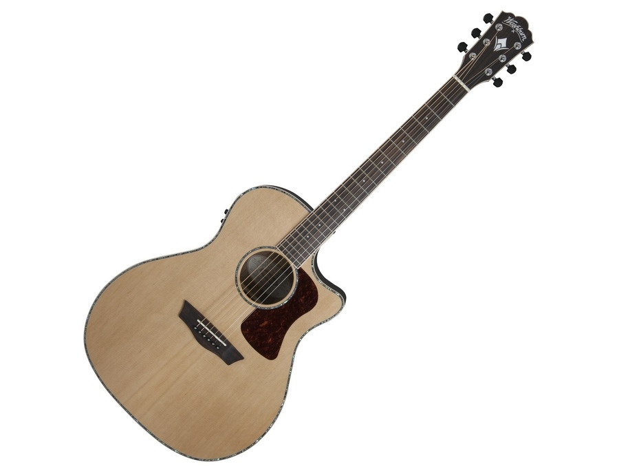 Washburn heritage g26sce electro acoustic natural xl