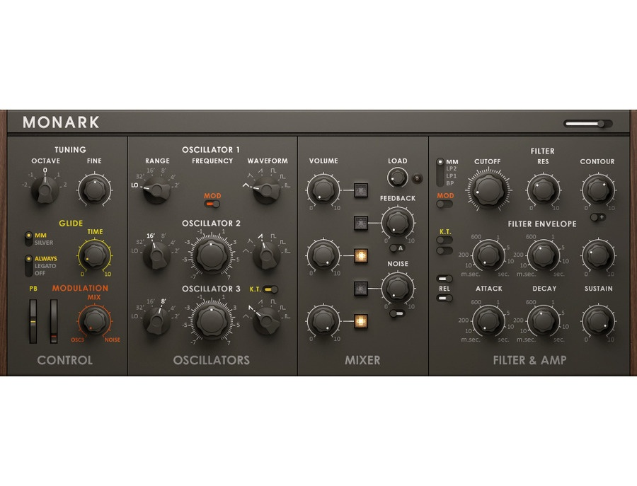 Native instruments monark monophonic software synthesizer xl