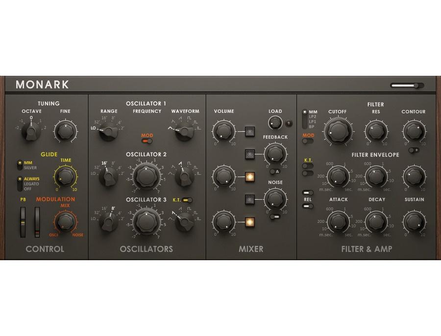 Native Instruments Monark Monophonic Software Synthesizer