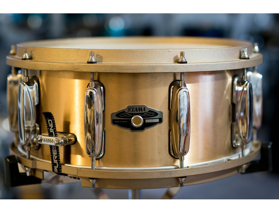 Tama pl565 bell brass snare drum 14x6 5 xl