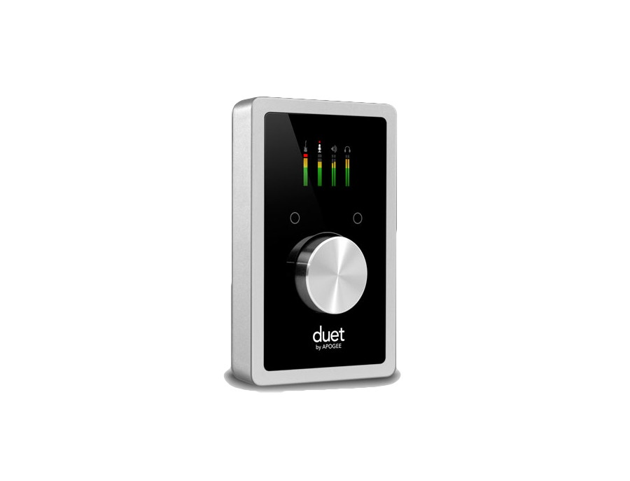Apogee duet usb audio interface for ipad iphone and mac xl