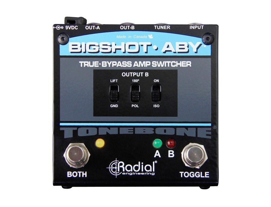 Radial engineering bigshot aby v2 xl