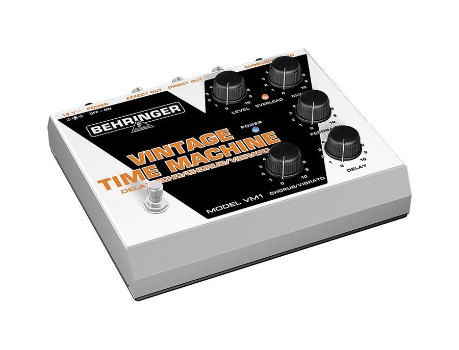 Behringer vintage time machine vm1 analog delay chrous vibrato pedal xl