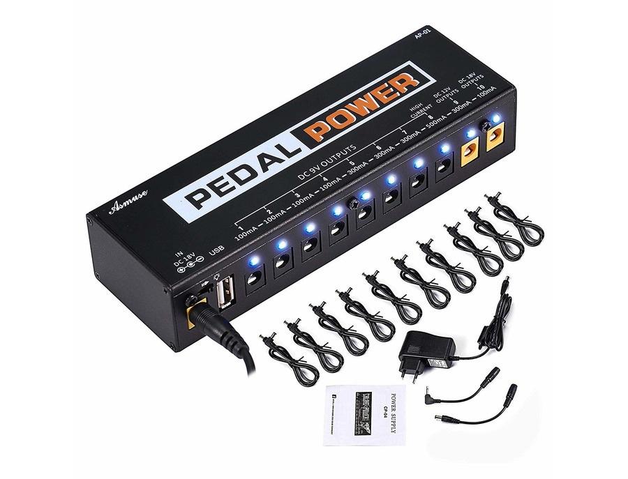 Asmuse pedal power ap 01 xl