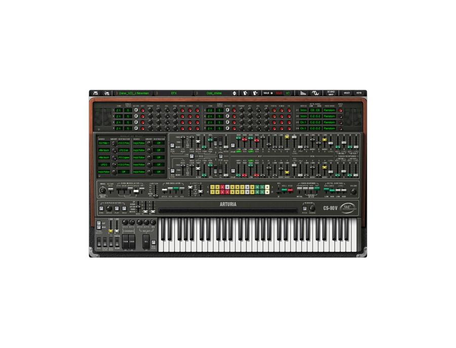Arturia cs 80 v software synthesizer xl