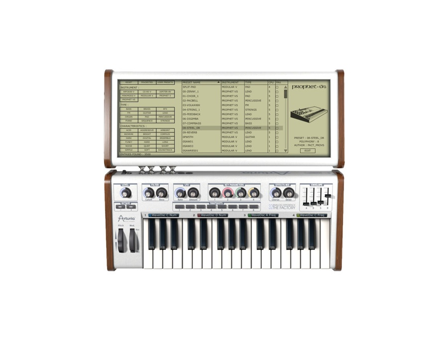Arturia Analog Factory Software Synthesizer