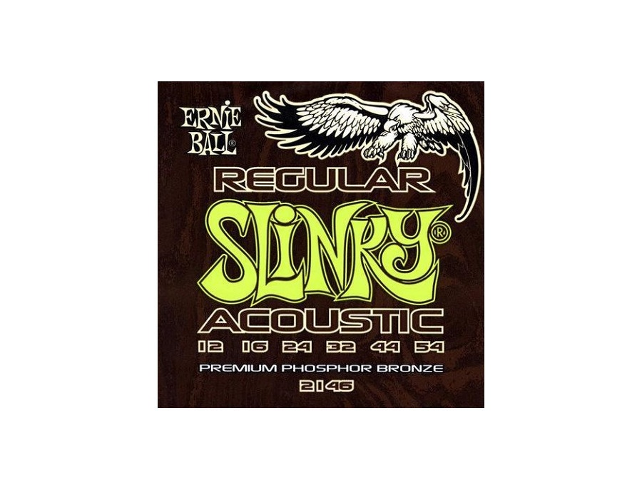 Ernie Ball 2146 Regular Slinky Acoustic Guitar Strings