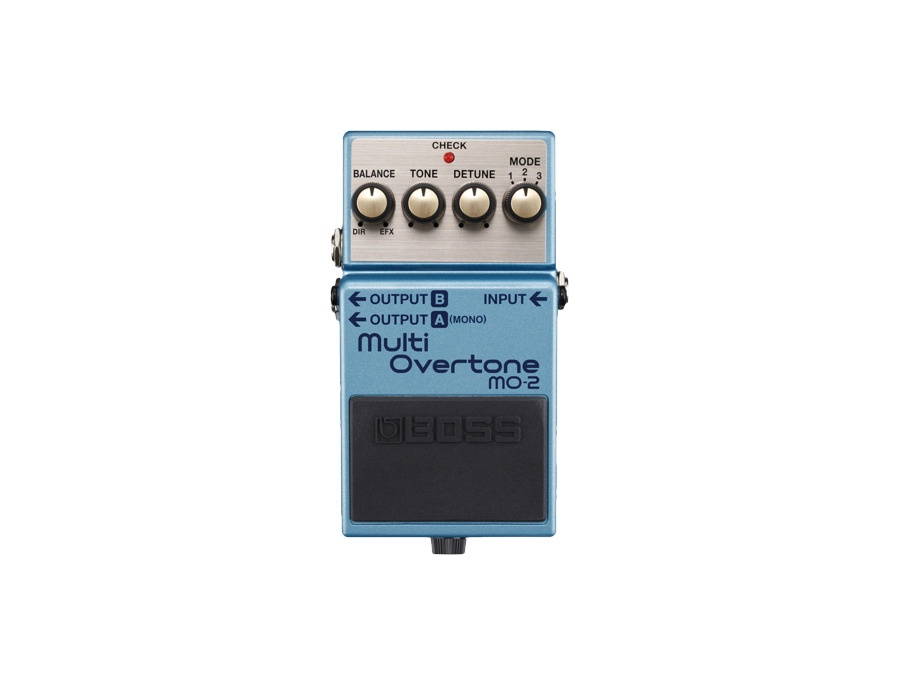 boss mo 2 multi overtone guitar effects pedal reviews prices equipboard. Black Bedroom Furniture Sets. Home Design Ideas