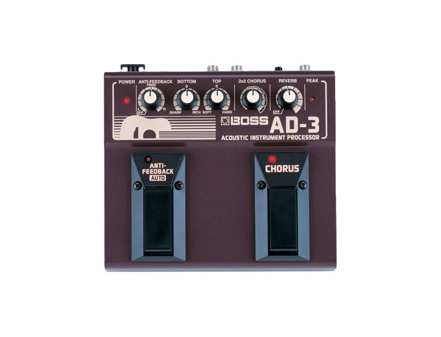 Boss AD-3 Acoustic Instrument Processor