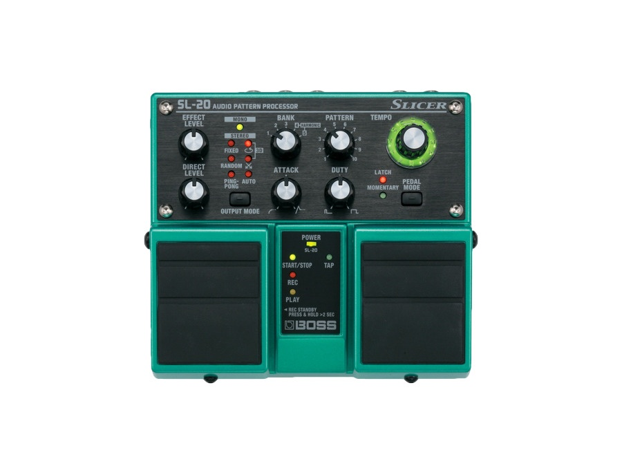 Boss sl 20 slicer twin pedal xl