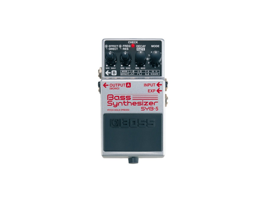 Boss syb 5 bass synthesizer effects pedal xl