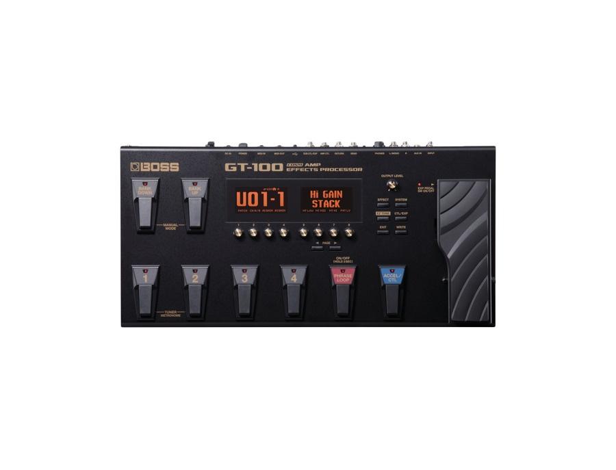 Boss gt 100 cosm amps effects processor xl