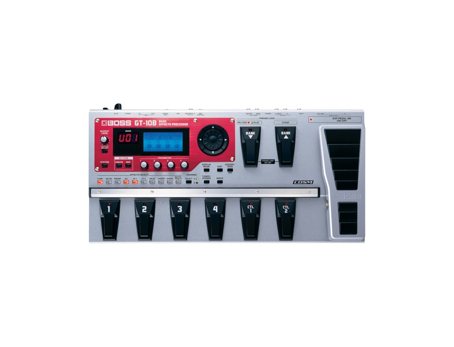 Boss GT-10B Bass Effects Processor