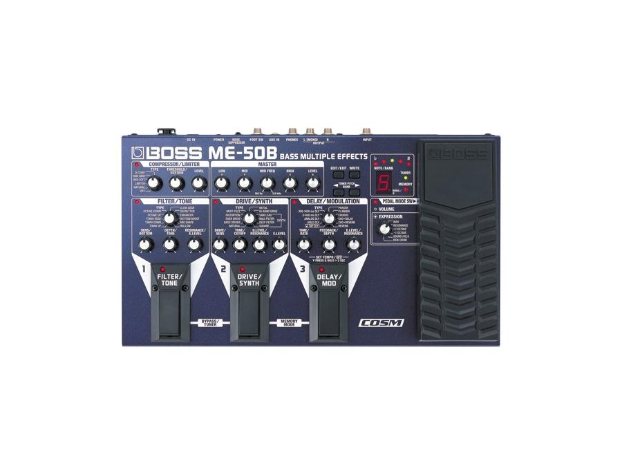 Boss me 50b bass multiple effects xl