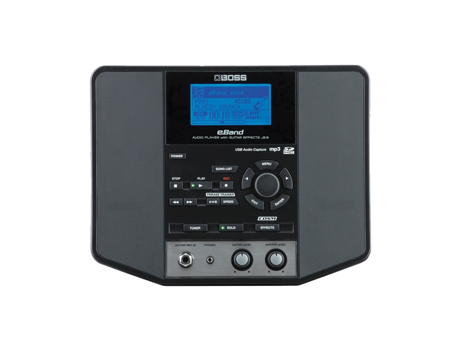 Boss eBand JS-8 Audio Player with Guitar Effects