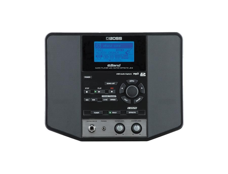 Boss eband js 8 audio player with guitar effects xl