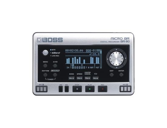 Boss MICRO BR® BR-80 Digital Recorder