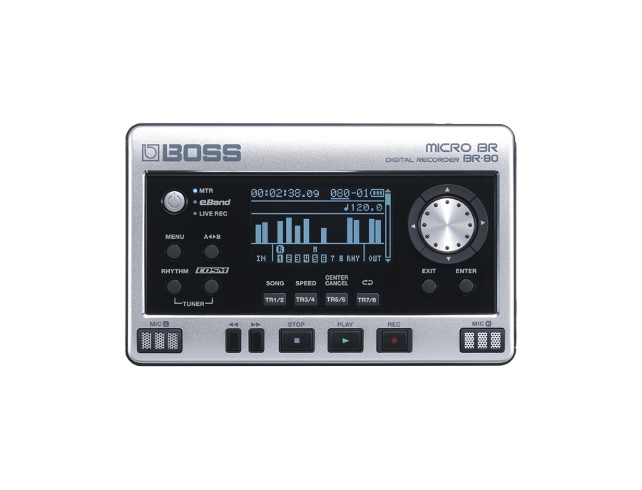 Boss MICRO BR® BR-80 Digital Recorder