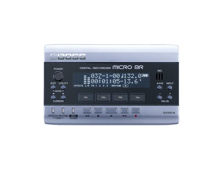 Boss micro br digital recorder xl