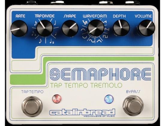Catalinbread Semaphore Tap Tempo Tremolo (Redesigned)