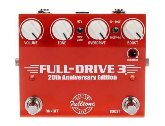 Fulltone Fulldrive 3 20th Anniversary