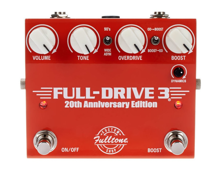 fulltone fulldrive 3 20th anniversary reviews prices equipboard. Black Bedroom Furniture Sets. Home Design Ideas