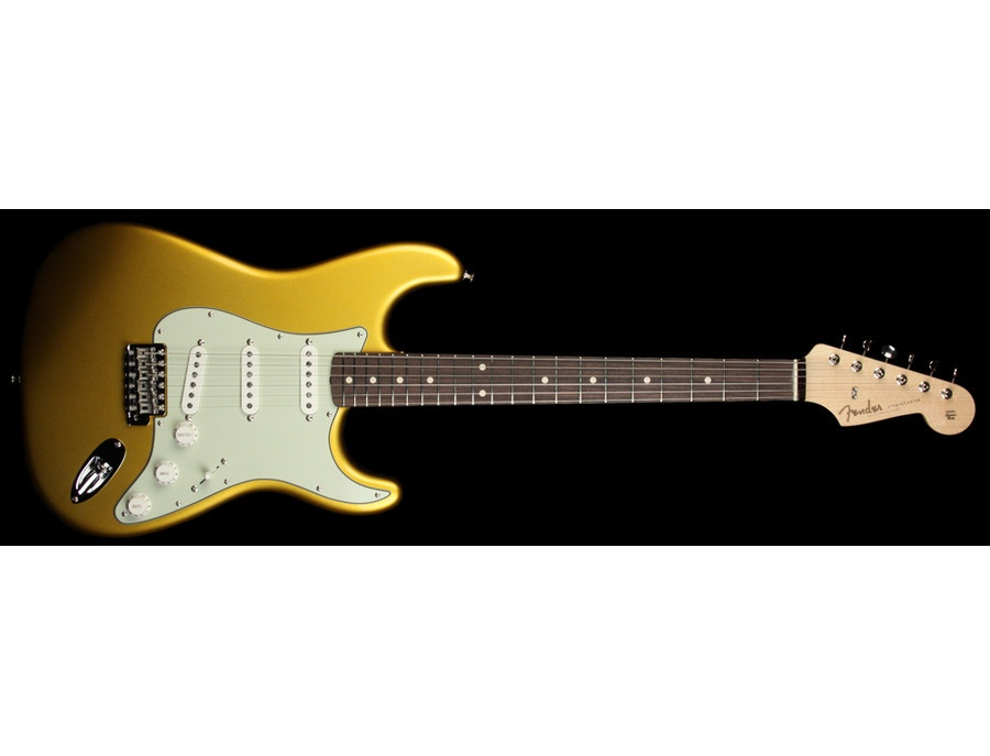 Fender Stratocaster Gold Finish
