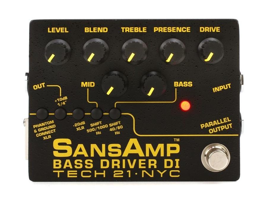 Tech 21 sans amps bass driver di pre amp xl