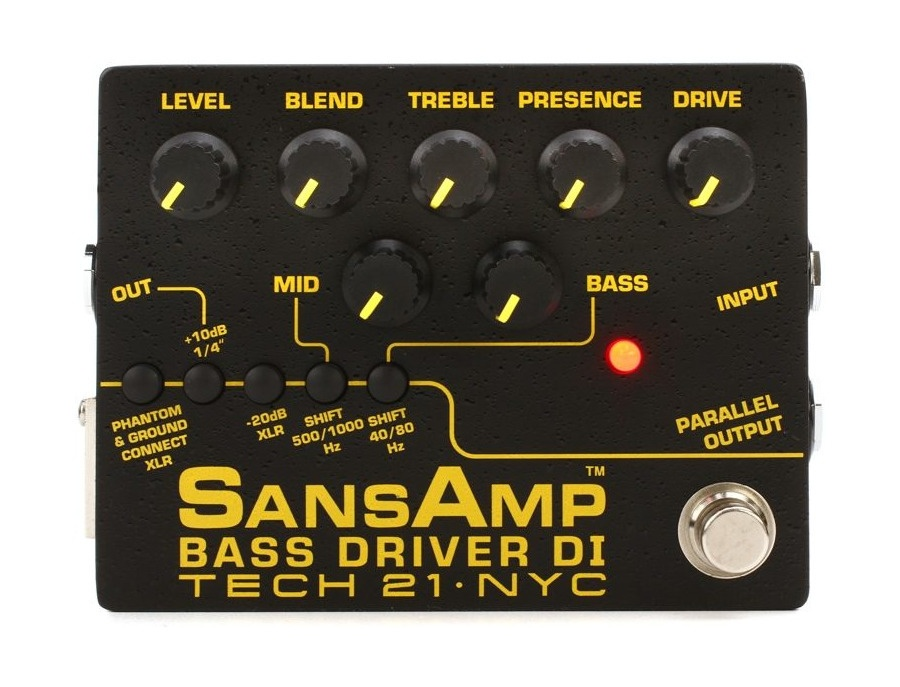 Tech 21 Sans Amps Bass Driver DI Pre-Amp