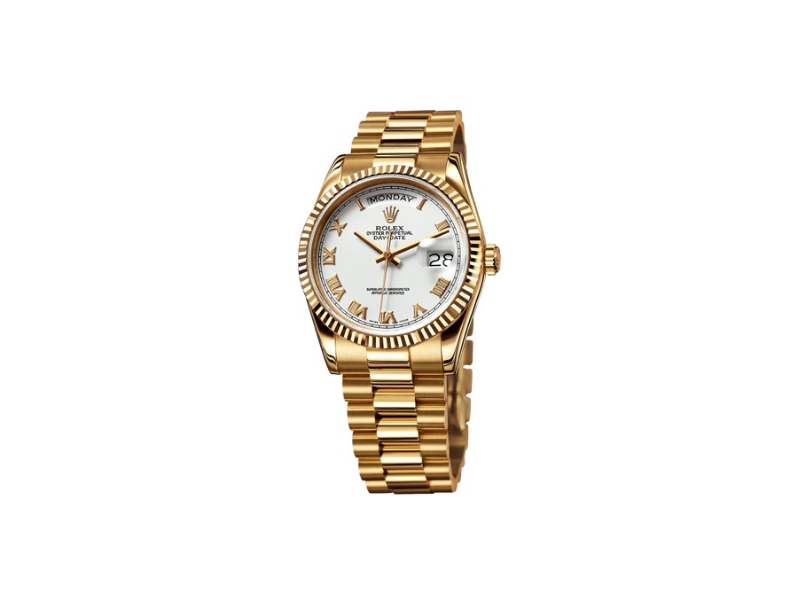 Rolex Yellow Gold Day-Date