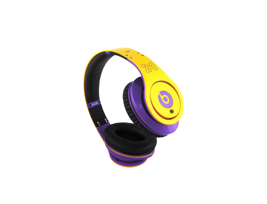Beats by dr dre kobe bryant lakers limited edition headphones xl