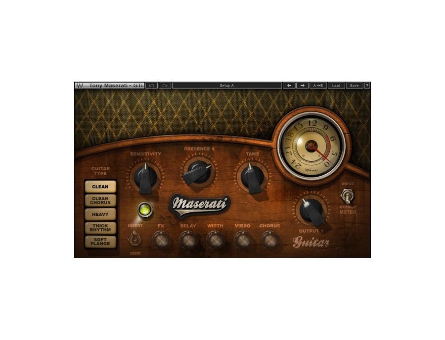 Waves Tony Maserati GTi Guitar Toner