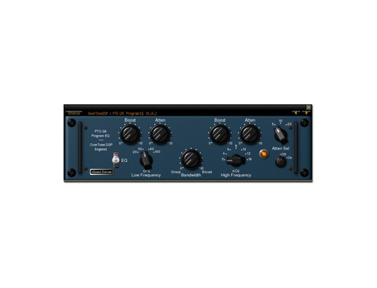OverTone DSP PTC-2A Program EQ