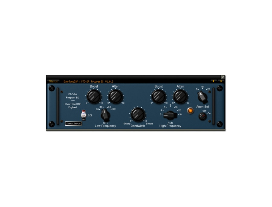 Overtone dsp ptc 2a program eq xl