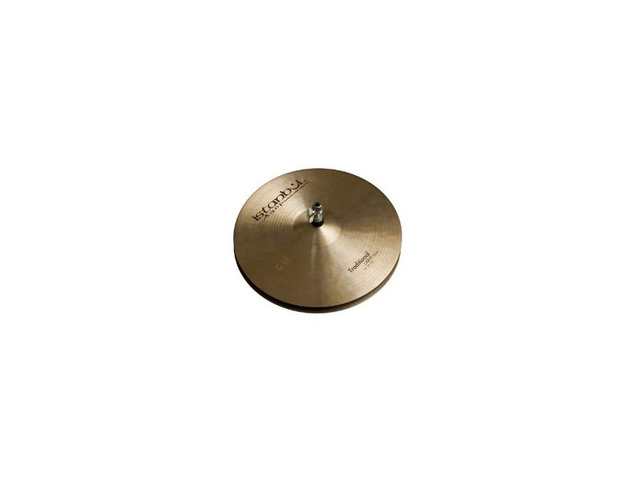 Istanbul agop traditional light hi hat cymbals 15 in xl
