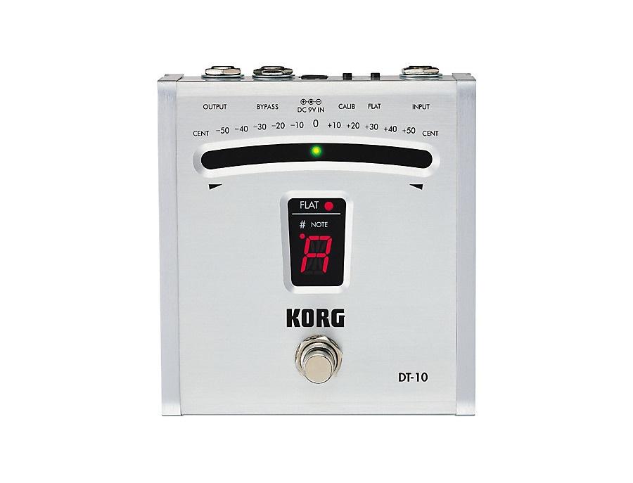 Korg dt 10 digital pedal tuner xl