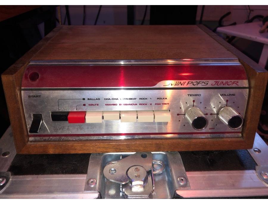 1972 Korg Mini Pops Junior Drum Machine